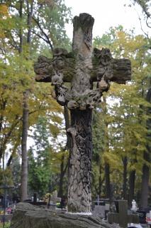 wieniec laurowy, krzyż.